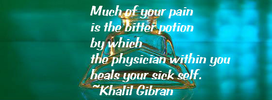What Is the Purpose of Physical Pain? Part 1