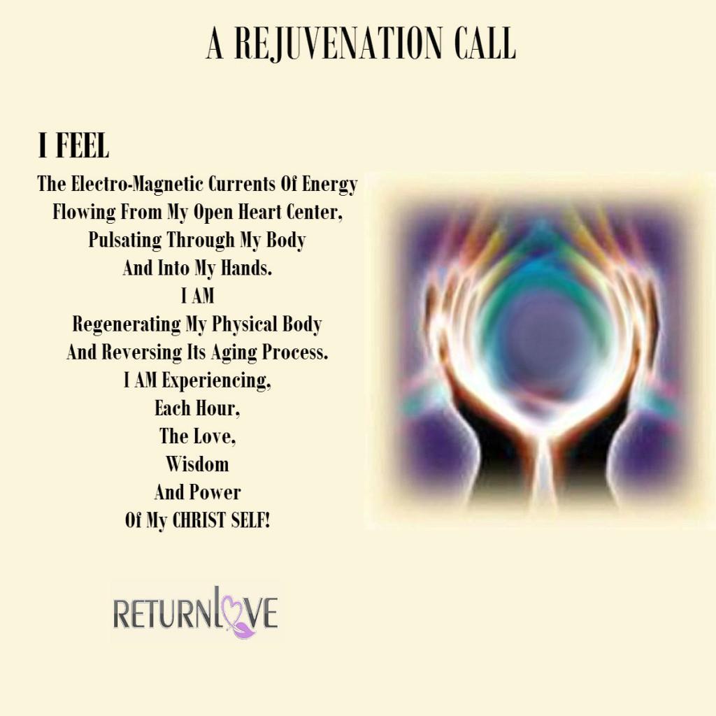 A REJUVENATION CALL