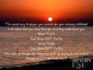 forgive parents