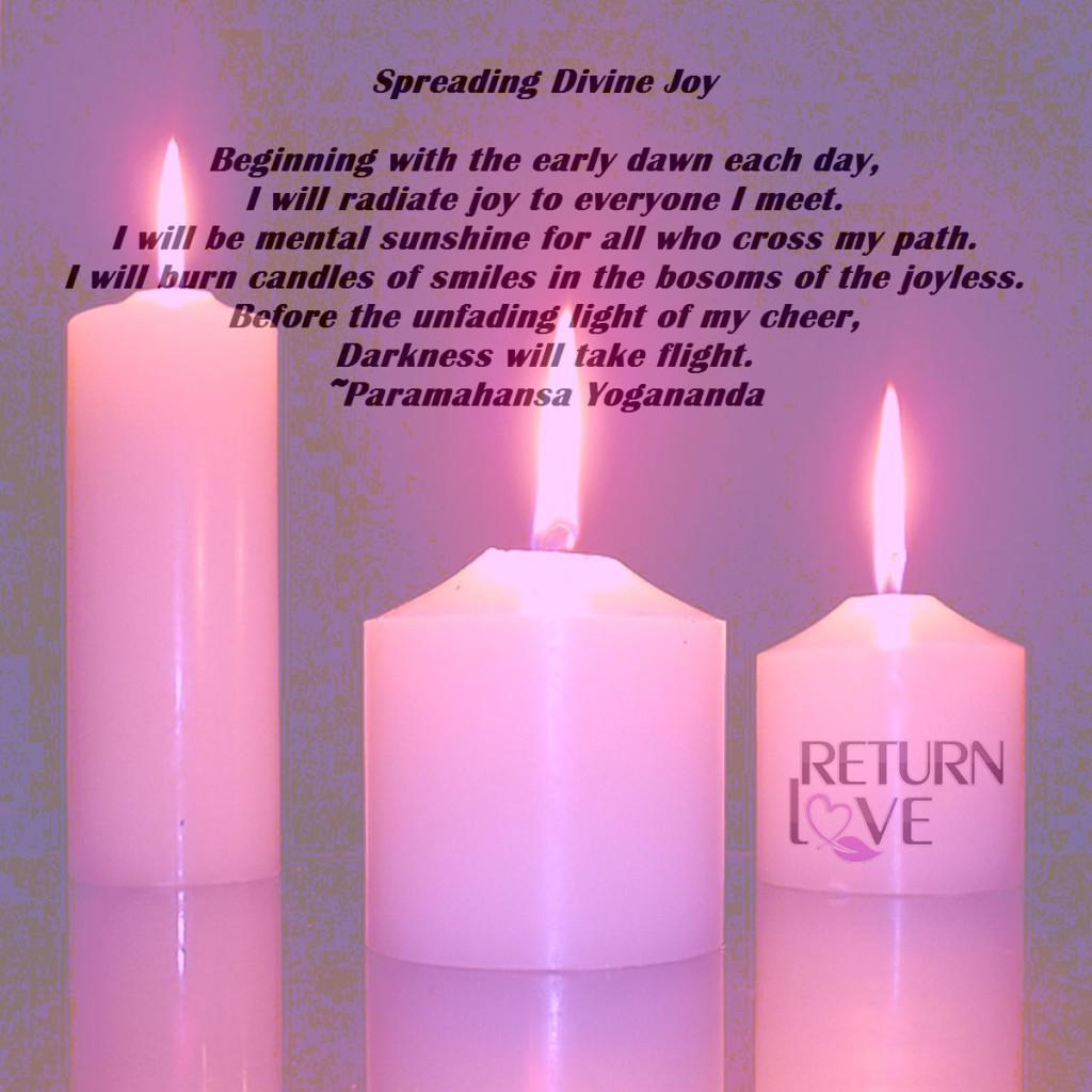 Spreading Divine Joy 1