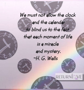HG Wells time