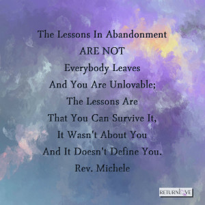 lessons in abandonment